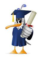 Утка с дипломом